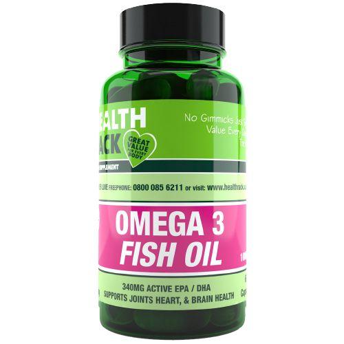 High Strength Omega 3 Fish Oil  1000mg Capsules