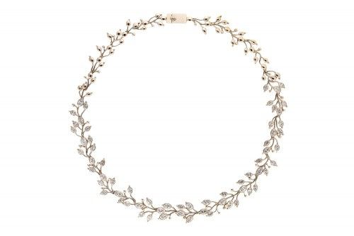 Brindavana Saranga Diamond Necklace