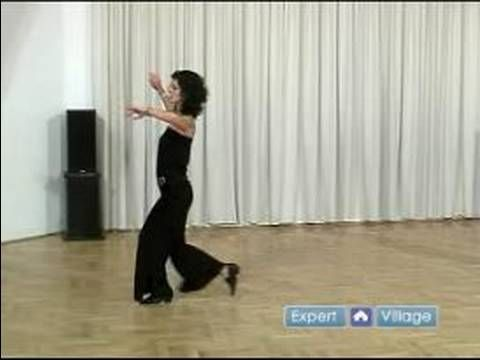 How to Dance the Foxtrot : Cross Chasse Steps for Ladies in Foxtrot Dancing