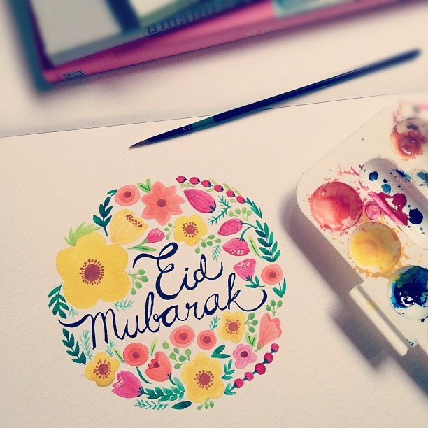 Eid Mubarak! Happy holiday! by ayangcempaka on instagram