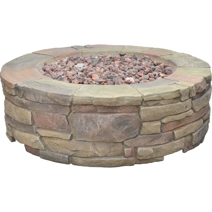 Petra Gas Firepit (67803A) - Outdoor Fireplaces - Ace ... on Ace Hardware Fire Pit  id=81677