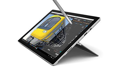 Microsoft Surface Pro 4 Ecran tactile 12,3″ (Intel Core i5 6ème génération, 8 Go de RAM, SSD 256 Go, Windows 10 Pro) + Stylet surface inclus