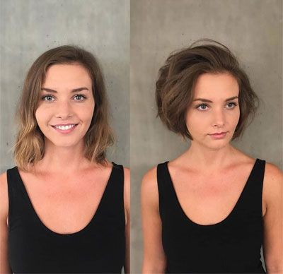 Http Www Msfullhair Com Wp Content Uploads 2019 03 Best Short Hairstyles For Fine Hair On Crown V15 Jpg Super Thin Hair Thin Fine Hair Thin Hair Haircuts