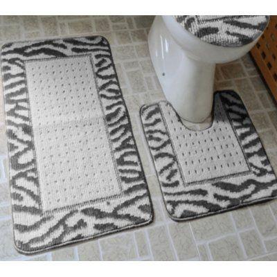 Shop Wayfair for the best 3 piece bathroom rug set. Enjoy Free Shipping on most stuff, even big stuff.