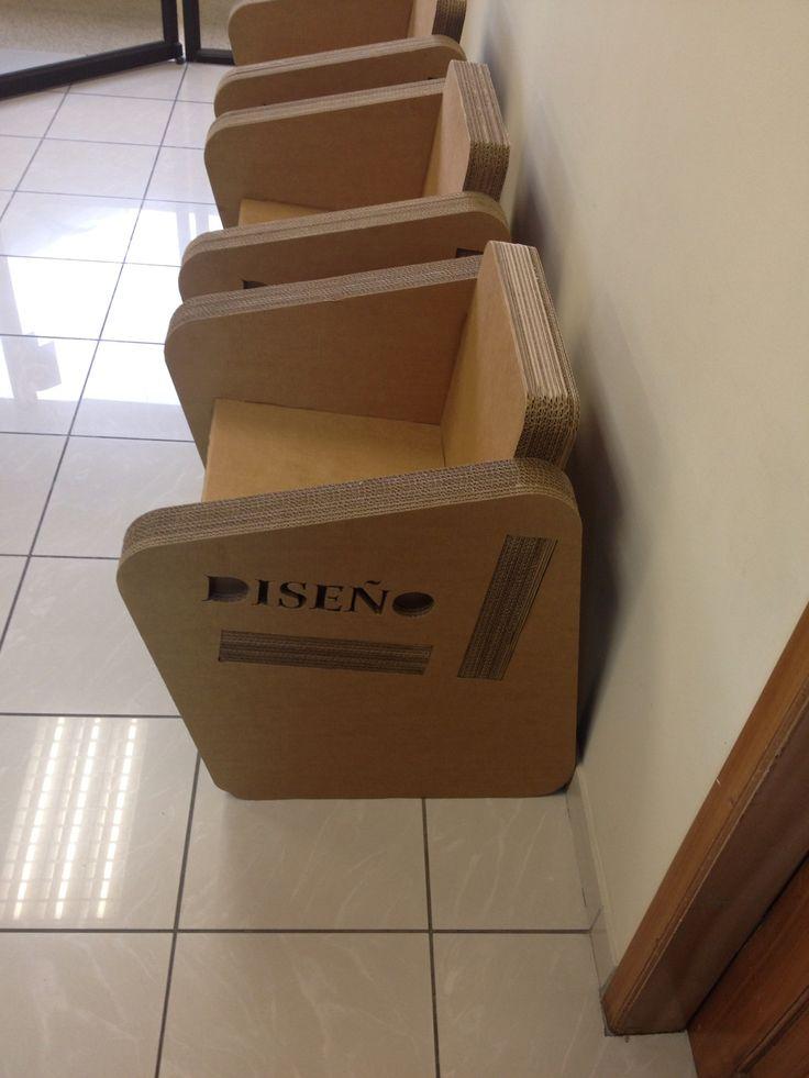 Cardboard chair!!
