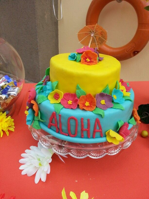 Hawaiian Cake Ideas Birthday 24482