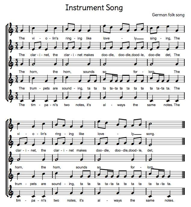I had forgotten about this song! The students' love it! from Beth's Music Notes: