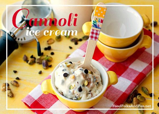 Holy Cannoli Ice Cream - Food Folks and Fun