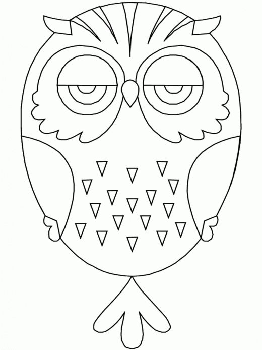 printable owl coloring page printable owl animals coloring pages - Animal Mandala Coloring Pages Owl