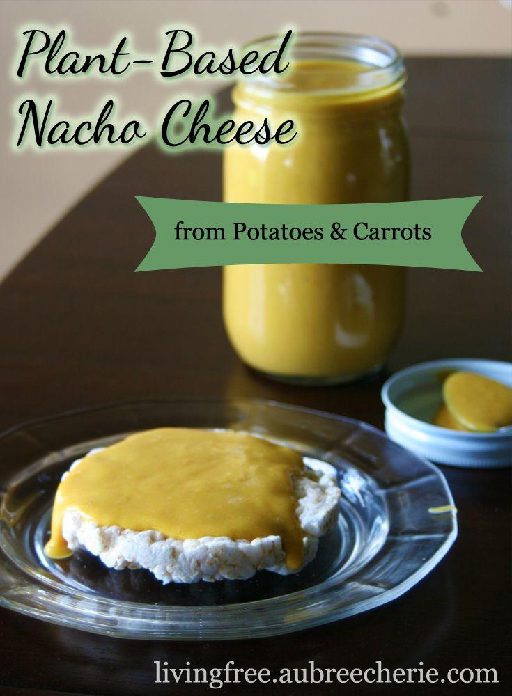 Living Free   Plant Based Nacho Cheese (GF, DF, & SF)