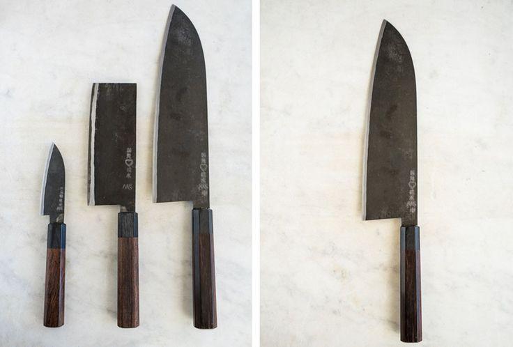 // Takeda Hamono Gyuto Knives