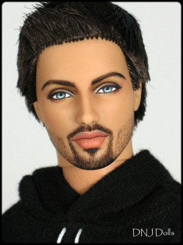 OOAK Ken Barbie Doll Ryan Fashionistas Repaint DNJ Dolls 5 Day Auction | eBay