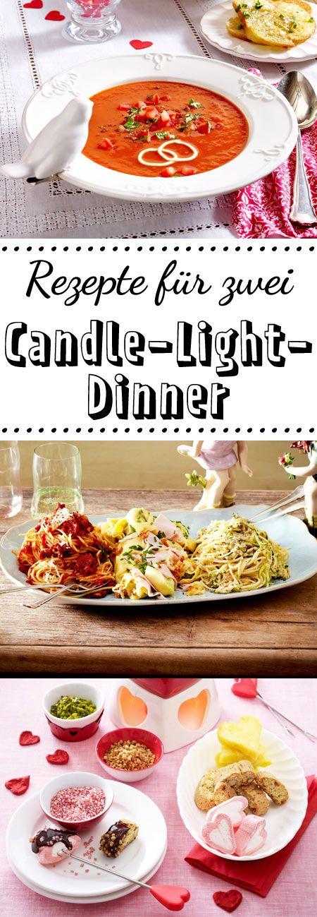 Candle Light Dinner   Raffinierte Rezepte Für Zwei