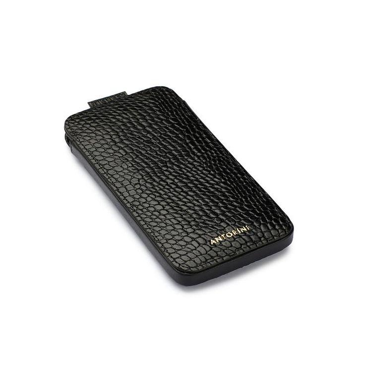 iPhone 7 Case in Black Croc