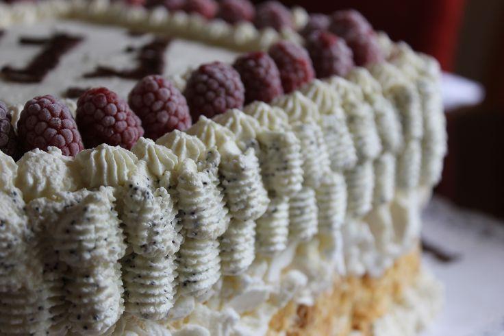 Torta casera triple mixta