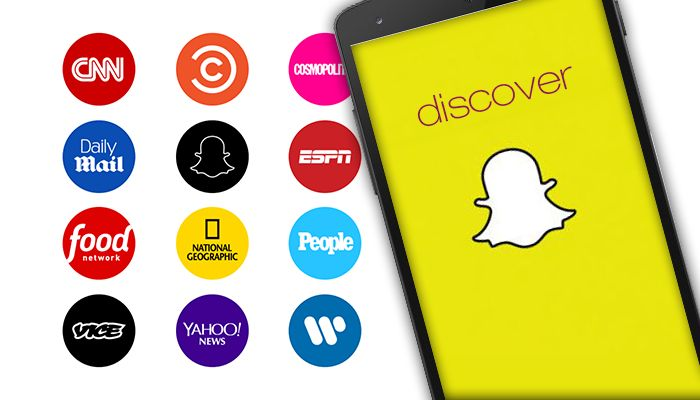 Snapchat Tries its Hand at Media with the Launch of Discover