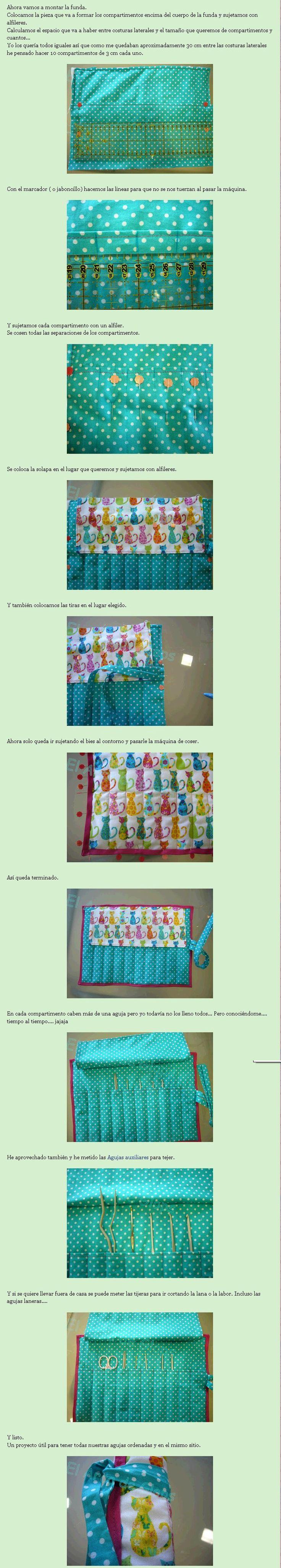 Tutorial Funda para Agujas de Crochet 2