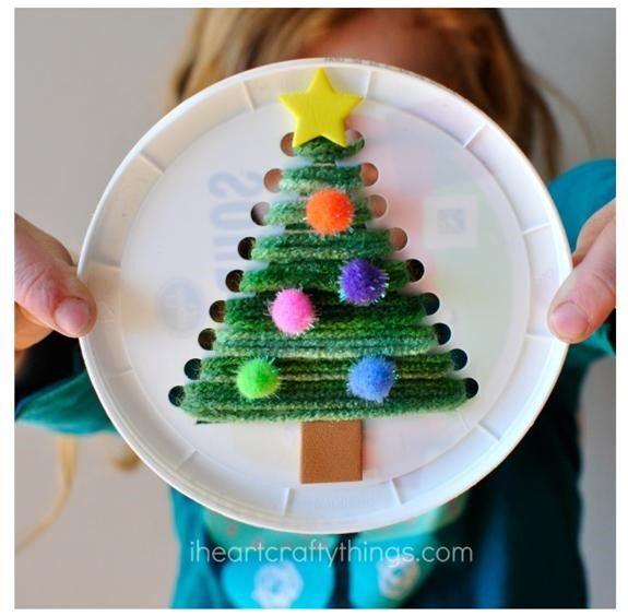겨울만들기자료 유치원 어린이집 겨울 크리스마스 만들기 사진 자료 모음 네이버 블로그 크리스마스 트리 나무 공예품 크리스마스 Diy