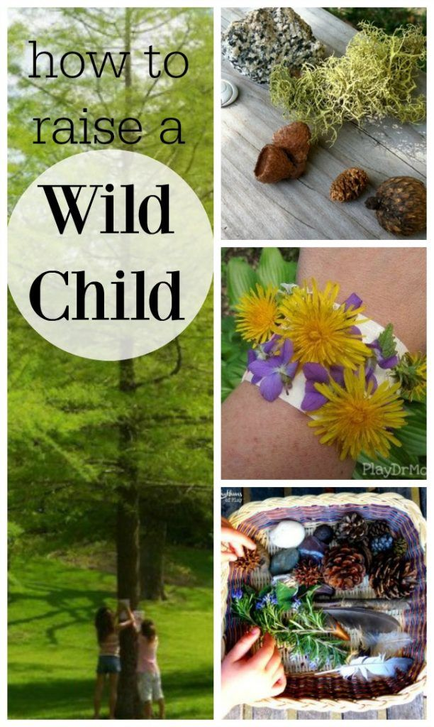 These are great ideas to get the kids outside and exploring nature. #outdoorkids