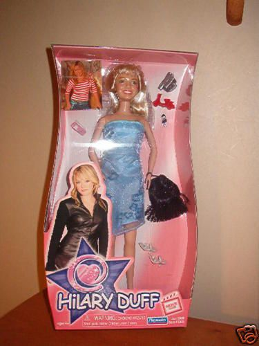 2004 Hilary Duff Movie Star Fashion Doll Playmates Toys