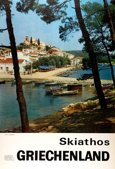 GRIECHENLAND. Skiathos. 1960~1969.