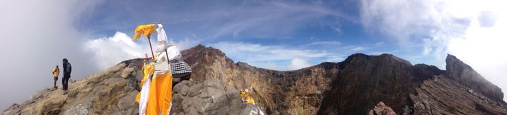 Panorama View from Mt. Agung