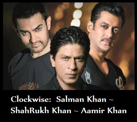 The 3 Khans sharing the screen in the same movie is like having Beyoncé, Shakira and Rihanna all in the same video!  That's #entertainment !