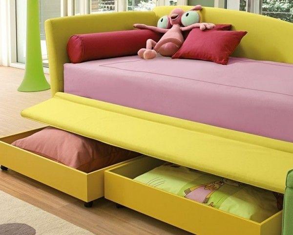 Textil-Überzug-modernes-Kinderbett