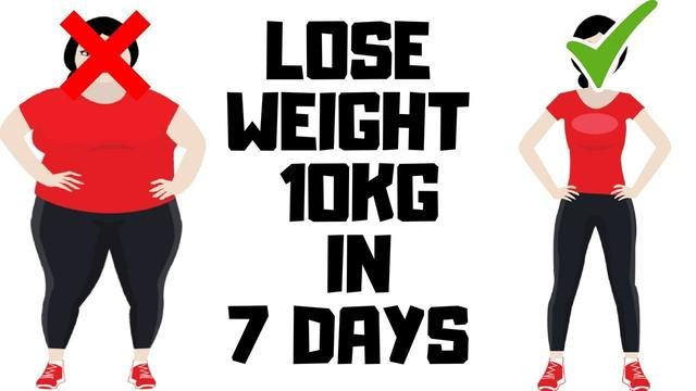 HOW TO LOSE WEIGHT FAST 10Kg in 7 Days - Apple Diet Weight