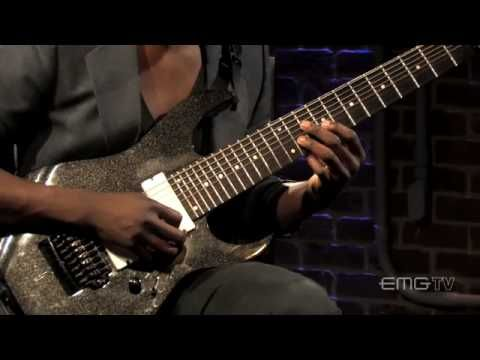 ▶ Amazing performance by Tosin Abasi on 8 String guitar, Wave of Babies, EMGtv - YouTube