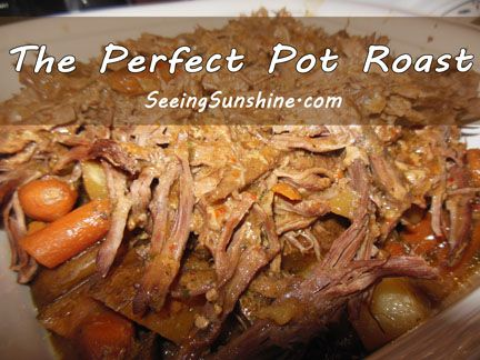 The best roast we've ever had! So flavorful! All you need is brown gravy mix, ranch mix and Italian mix -- turns out amazing!
