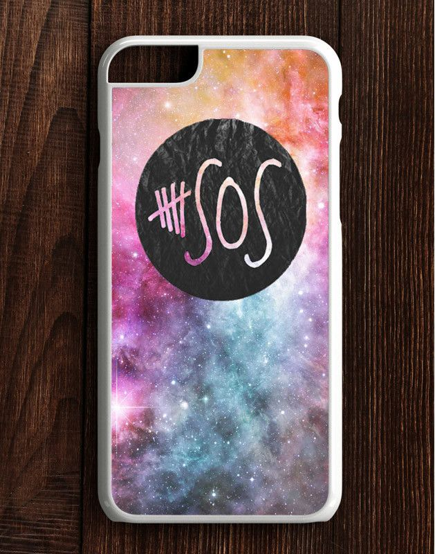 5 Second Of Summer Logo Galaxy iPhone 6 Plus | 6S Plus Case