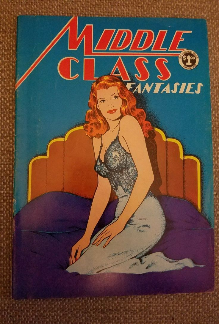 Middle Class Fantasies #1 (1973) Underground Comic Book Jerry Lane | eBay