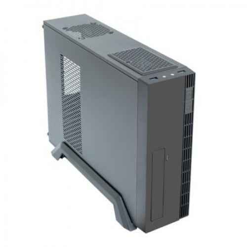 Carcasa Chieftec Midi Tower UE-02B-OP, fara sursa, mATX vent optionale 2x8cm, 2xUSB3.0, HD audio, negru