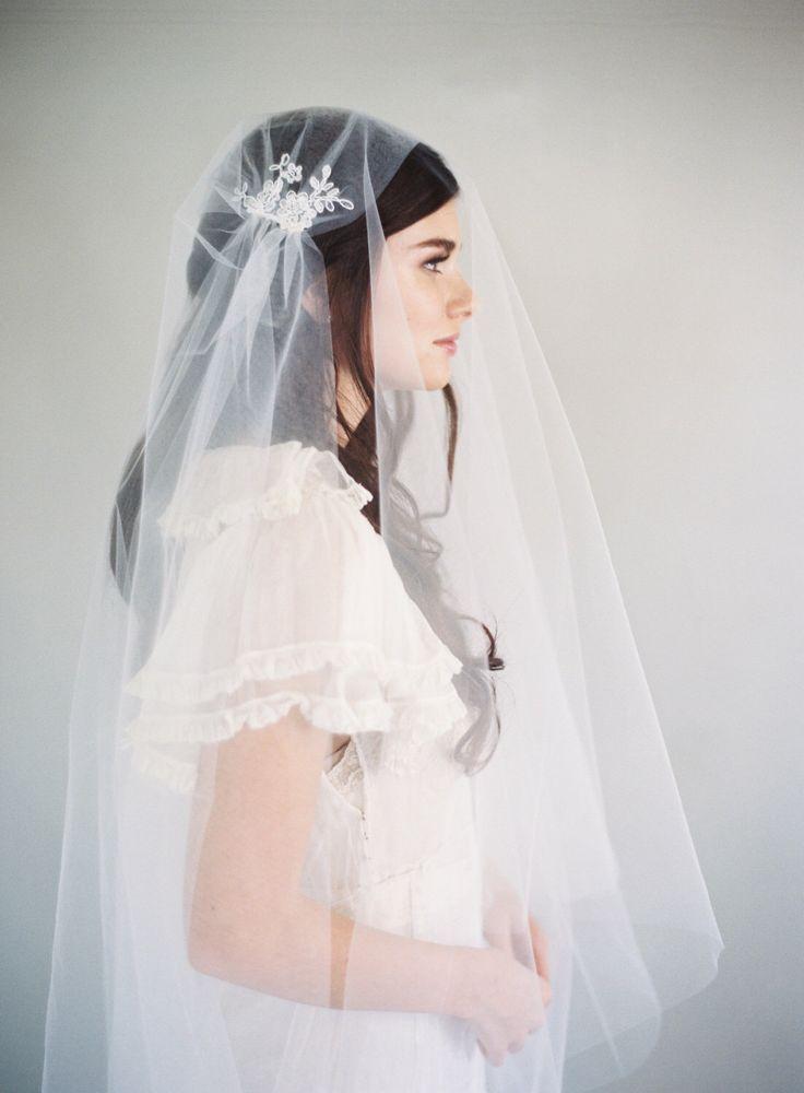 Lace Veil, Juliet Cap Veil, 1920s Veil, Downton Abbey Veil, Fairy Lace, Kate Moss Veil, Vintage Veil, Cathedral Veil, Woodland Veil, 1624 by VeiledBeauty on Etsy https://www.etsy.com/listing/266954314/lace-veil-juliet-cap-veil-1920s-veil