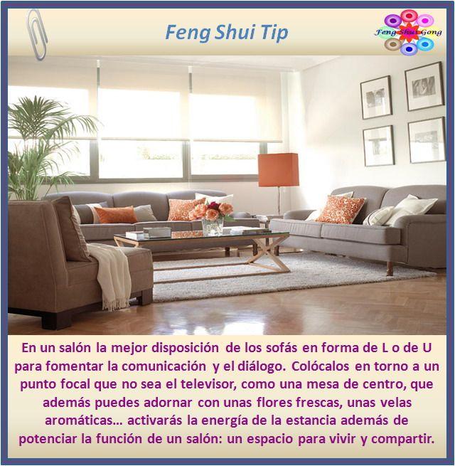 consejo feng shui para el salón