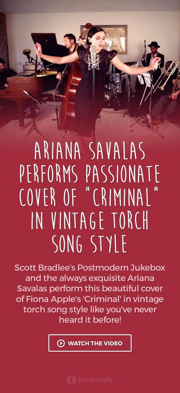 """Ariana Savalas Performs Passionate Cover of """"Criminal"""" in Vintage Torch Song Style"""