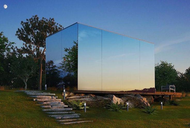 ÖÖD, una espectacular casa prefabricada que es munta en només vuit hores. Les parets de vidre mirall, fan que la llum natural flueixi cap a l'interior i que al mateix temps l'habitatge s'integri a la perfecció en l'entorn reflectint el seu propi paisatge. Si l'exterior resulta atractiu, a l'interior té també diversos detalls per guanyar funcionalitat, comoditat i espai que sorprenen i que a més ens poden inspirar per buscar solucions similars a les nostres respectives cases ... Anem a…