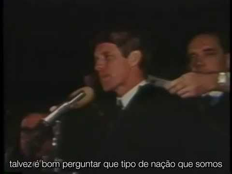 Robert F Kennedy - Anunciando O Assassinato do Martin Luther King - Legendado. - YouTube