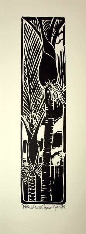 Image detail for -Nikau Palm, Dawn Mann | KAPA, NZ online shopping. Design shop