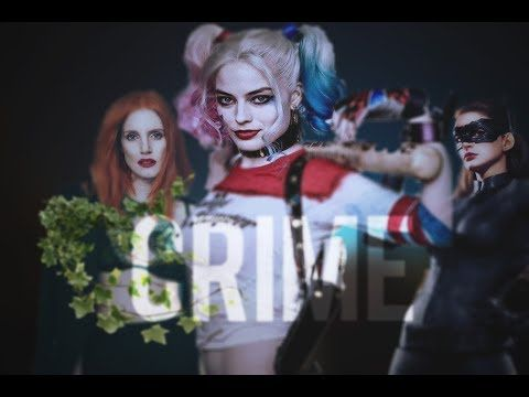 gotham city sirens | crime - YouTube  Gotham City Sirens  Harley Quinn  Poison Ivy  Catwoman  Selina Kyle  Margot Robbie