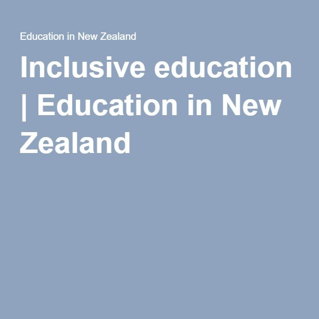 This is the link to the Ministry of Education page on inclusive education. I found this link really useful in developing an understanding of what inclusive education is and what it looks like in practice. I have included this in my curation as it is a link I want to keep.