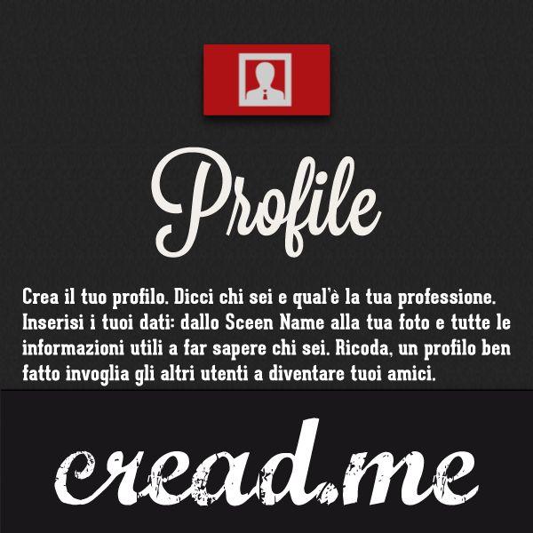cread.me | Profile