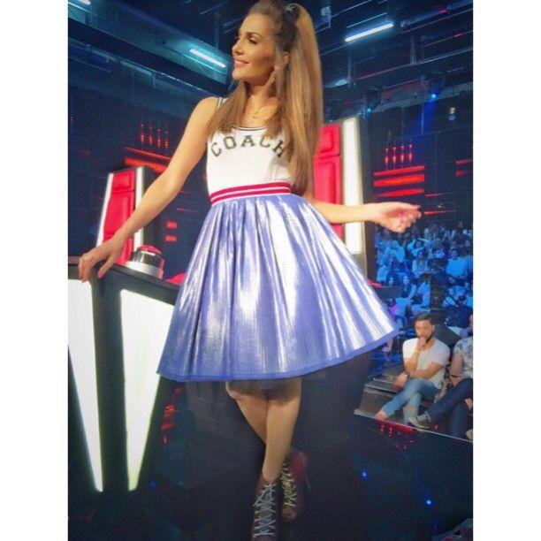 Δέσποινα Βανδή: Δείτε τι επέλεξε να φορέσει για τον ημιτελικό του The Voice