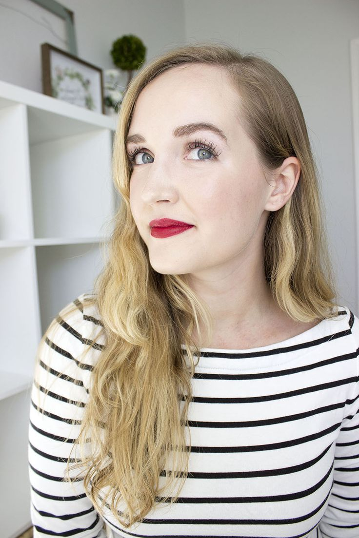 The Revlon Balm Stain is my all-time favorite lip product. No other drugstore or luxury lip color compares! Read my review to learn more. In this photo, I'm wearing the Revlon Matte Balm in Standout.