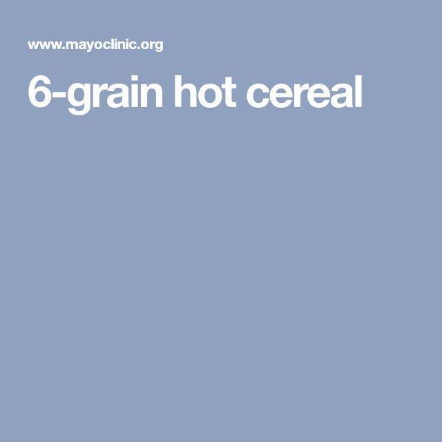 6-grain hot cereal