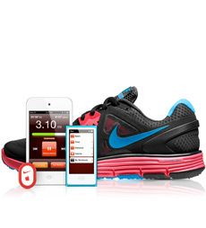 Apple - Take Nike + iPod on your run. Our favourite 'gadget' - combine music, a sensor and your time