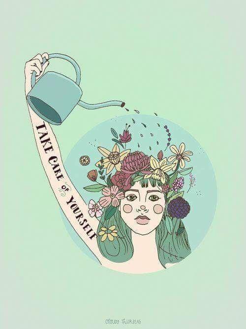 Nur eine kleine Erinnerung zum Üben der Selbstpflege. Du kannst nicht dein Bestes geben, wenn du dich abnutzst. – art