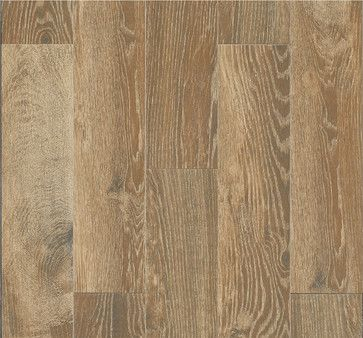 Style Selections Natural Timber Cinnamon Glazed Porcelain Floor Tile - contemporary - floor tiles - by Lowe's