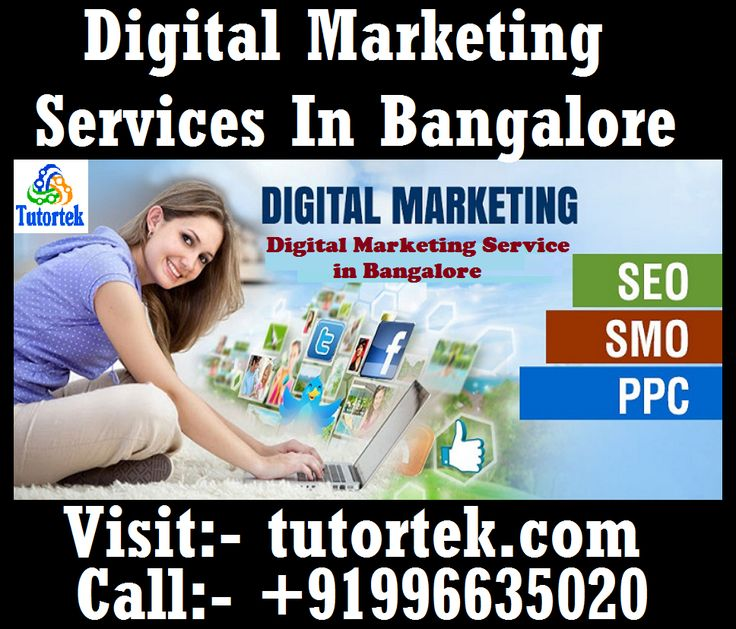 Tutortek Provides Digital Marketing Services in Bangalore. Here to provide you all kind of Digital marketing services such as SEO (on page and off page ), Google AdWords, Email marketing, social media marketing and optimization, SMS campaign, Affiliate Marketing and Analytics for all your business, Organizations, Schools, Website or person portfolio. Feel free to enquire. Call us: +919886635020 visit: www.tutortek.com